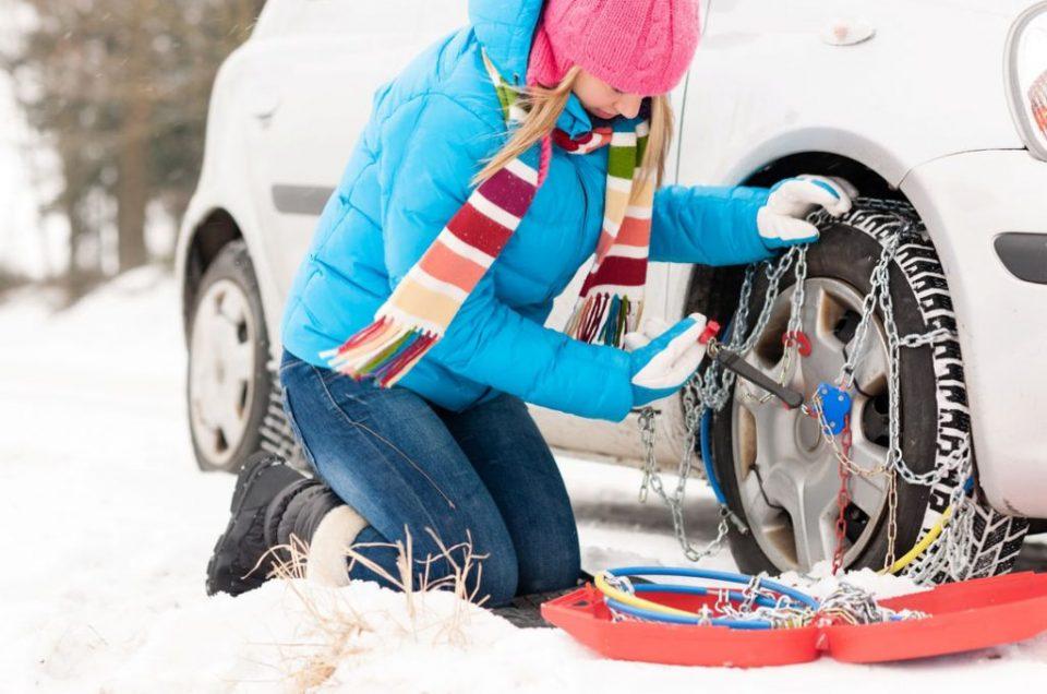 Sneeuwkettingen en winterbanden
