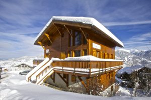 Ski chalet met catering wintersport