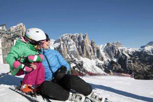 Wintersportvakantie Val di Fassa Italie 5
